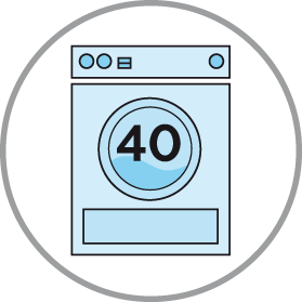 lavabile 40 gradi