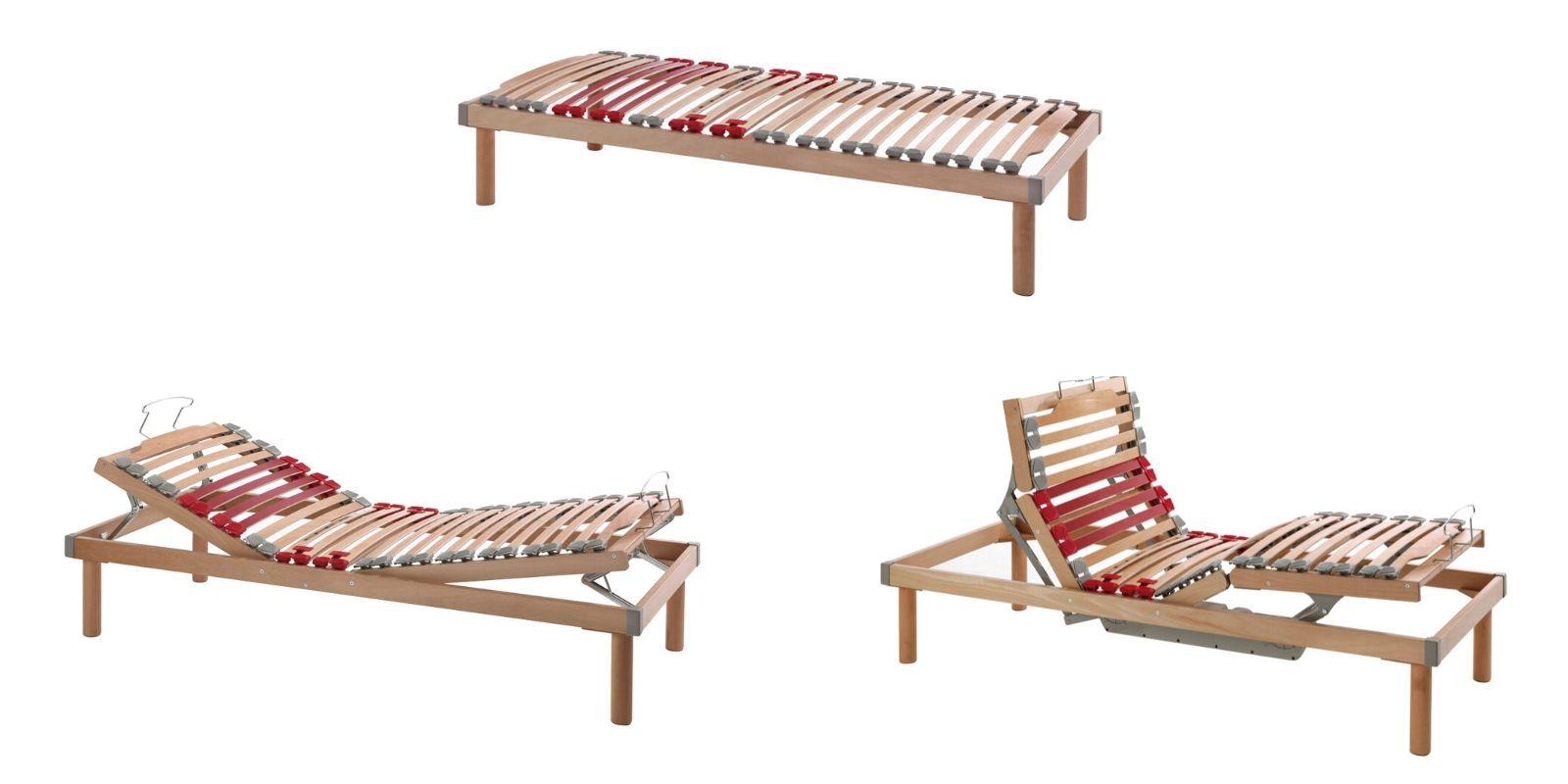 Reti a doghe con telaio in legno